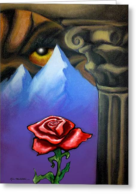 Dream Image 5 Greeting Card by Kevin Middleton