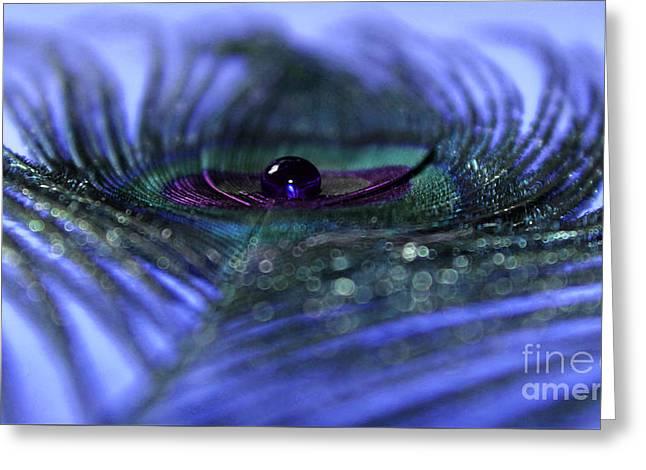 Dream In Sapphire Greeting Card by Krissy Katsimbras
