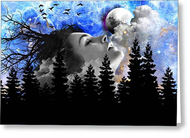 Dream Is The Space To Fly Farther Greeting Card