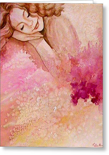 Dream Greeting Card by L Lauter