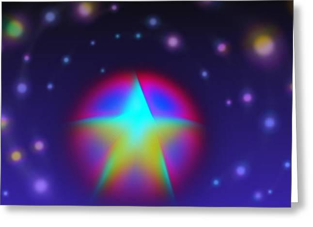 Dream Like A Super Star Greeting Card