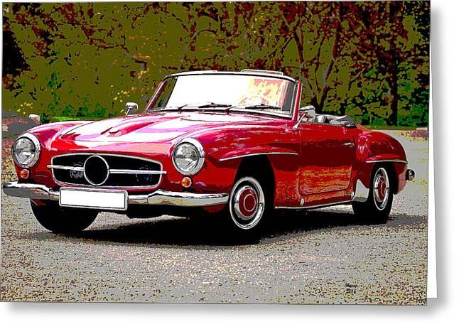 Dream Mercedes Benz Greeting Card