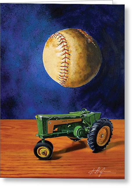 Dream Of Fields Greeting Card by Karl Melton