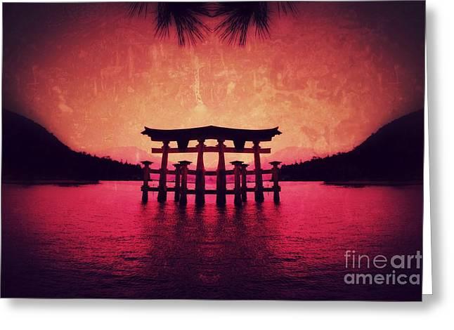Dream Of Japan Greeting Card