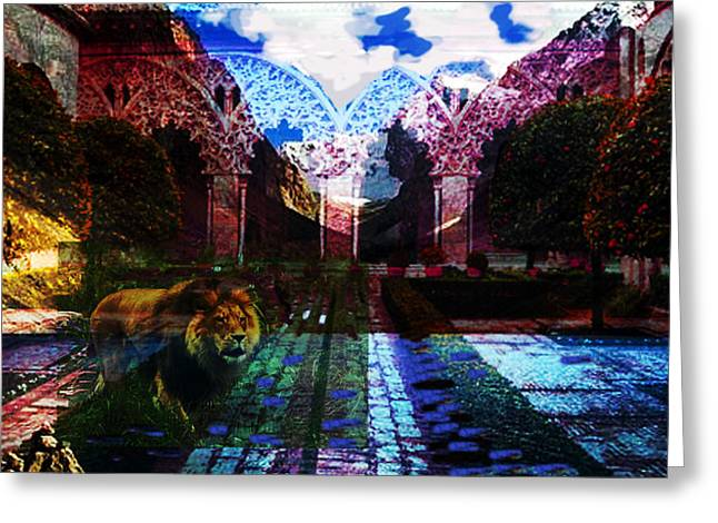 Dream Of Salvador  Greeting Card by Paul Sutcliffe