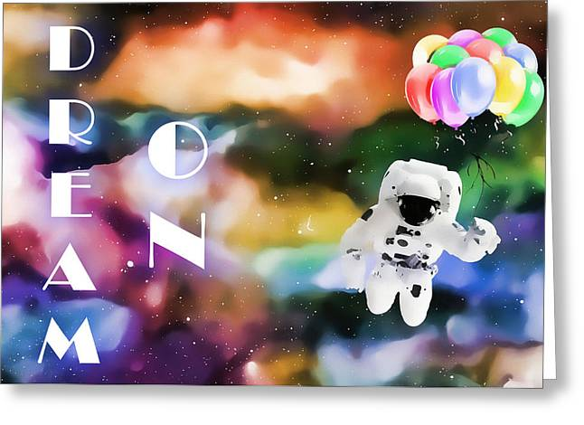 Dream On Greeting Card by Dan Sproul