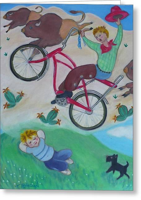 Dream Ride Greeting Card