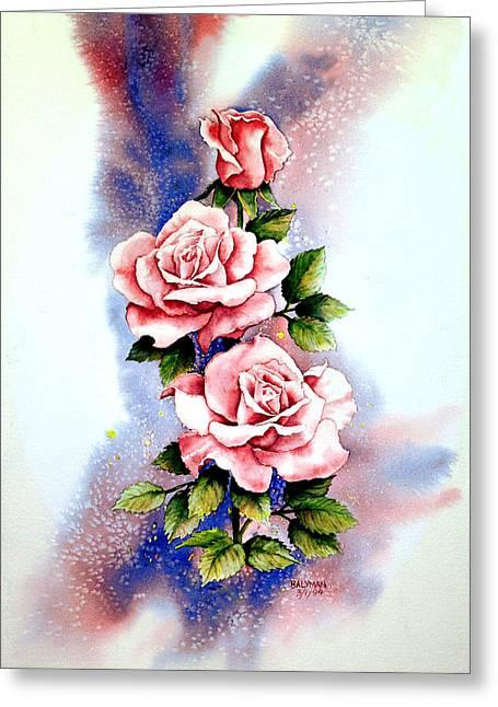 Dream Roses Greeting Card by Brooke Lyman
