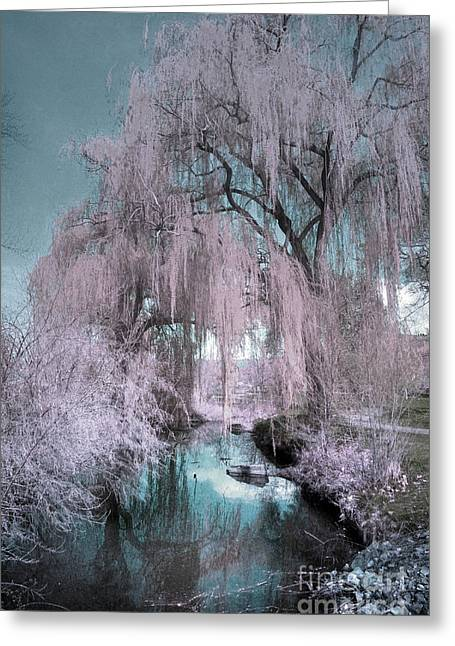 Dream Willows Greeting Card by Tara Turner