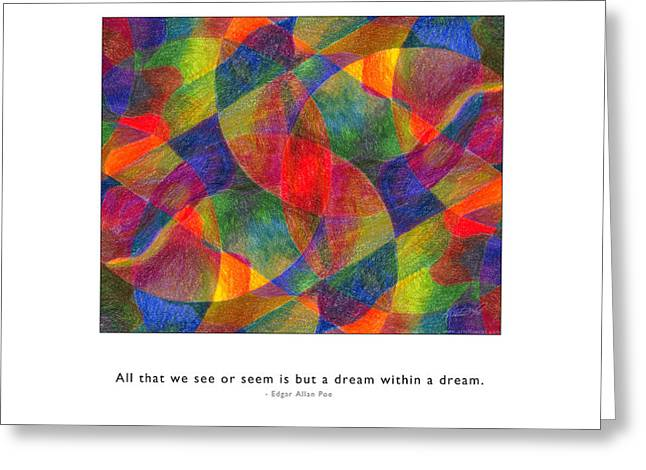 Greeting Card featuring the photograph Dream Within A Dream by Kristen Fox