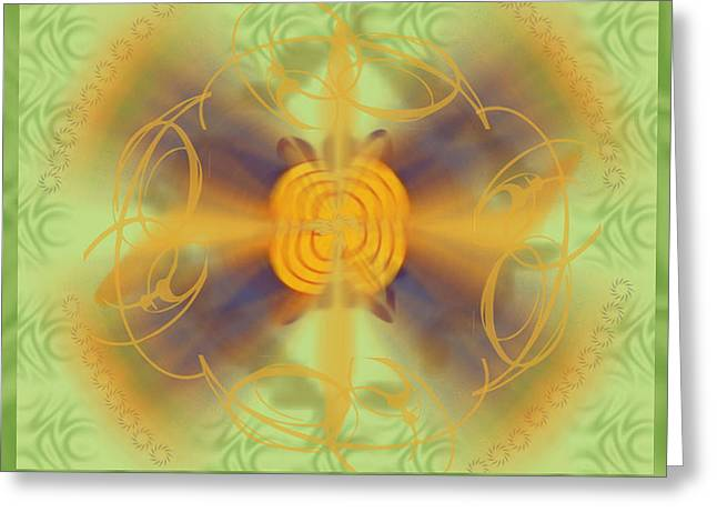 Dreamflower Greeting Card by Cheri Doyle