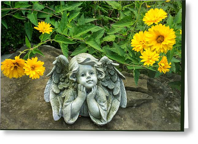 Dreaming Angel Greeting Card