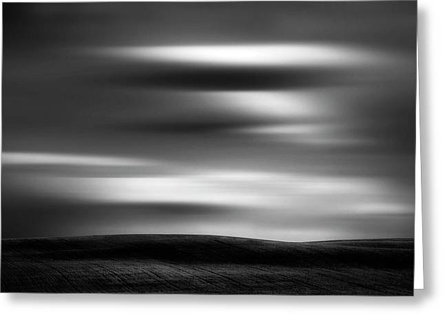 Greeting Card featuring the photograph Dreaming Clouds by Dan Jurak