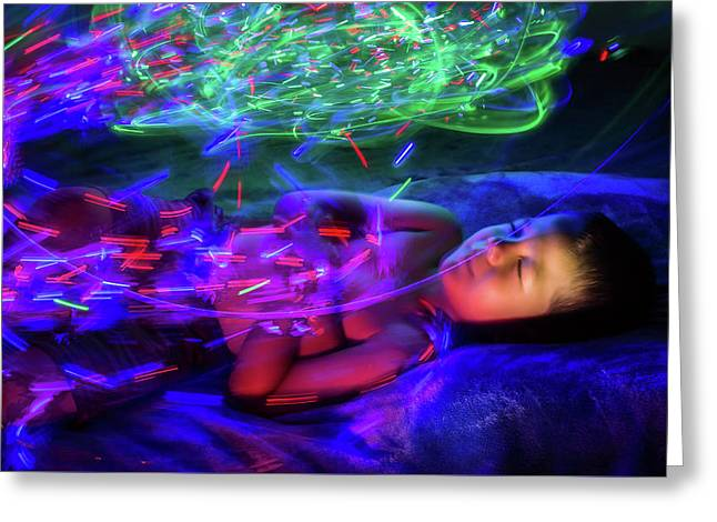 Dreaming In Color Greeting Card