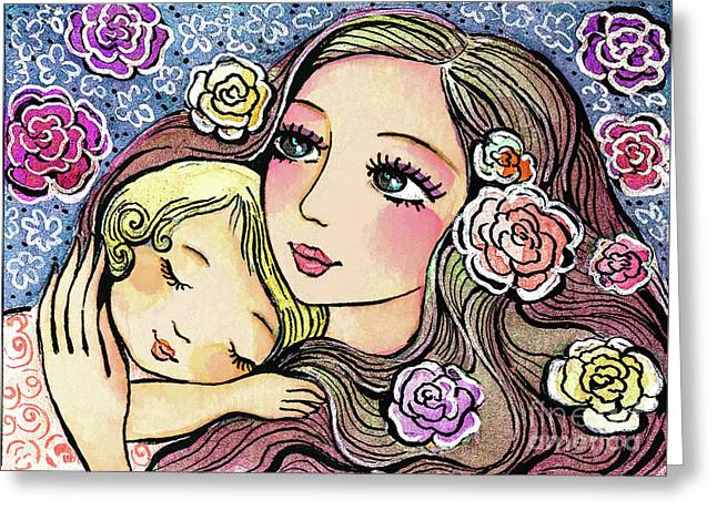 Dreaming In Roses Greeting Card