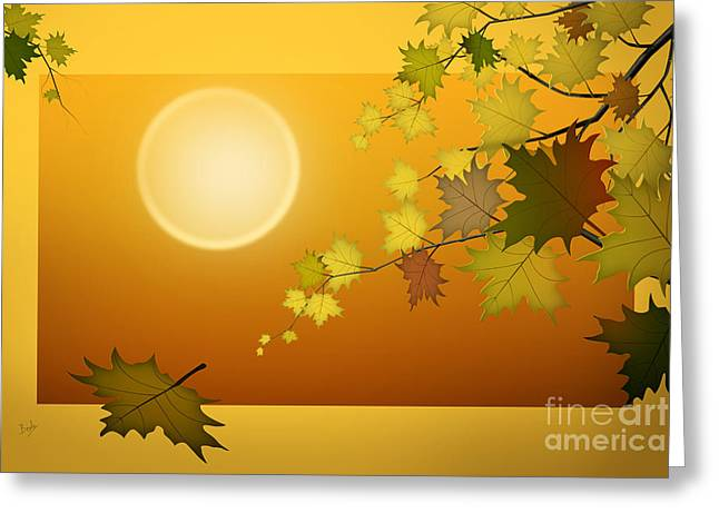 Dreaming Of Autumn Greeting Card
