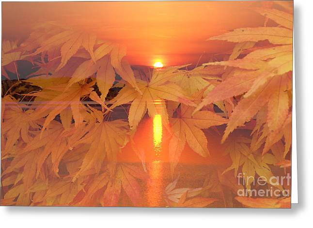 Dreaming Of Fall Greeting Card