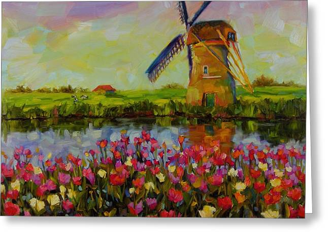 Dreaming Of Holland Greeting Card