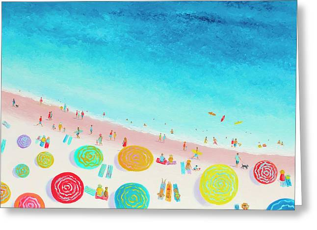 Dreaming Of Sun, Sand And Sea Greeting Card