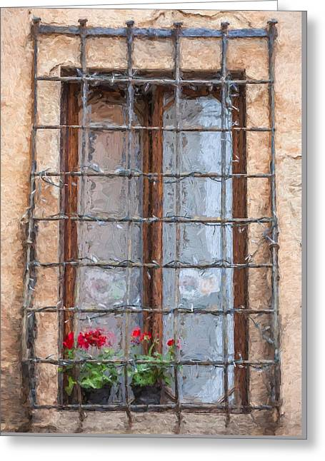 Dreaming Of Tuscany Greeting Card by David Letts