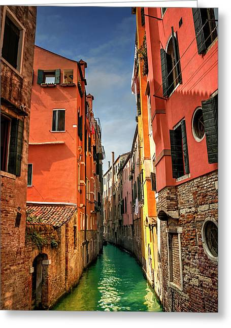 Dreaming Of Venice  Greeting Card