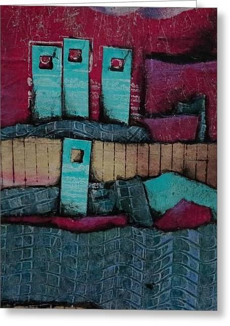 Dreamland Greeting Card by Laura Lein-Svencner