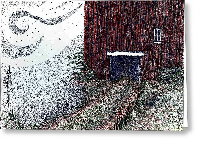 Dreamland Opens Here... Greeting Card by Saundra Lee York