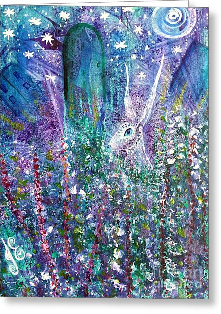 Dreams And Decisions Greeting Card by Julie Engelhardt