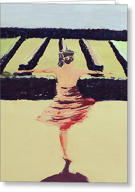 Dreams Of A Dancer Greeting Card