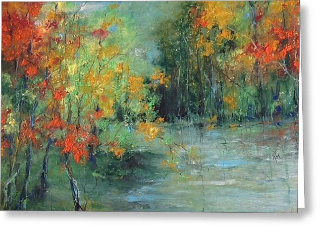Dreams Of Autumn #1 Paradise On Pontchartrain Greeting Card