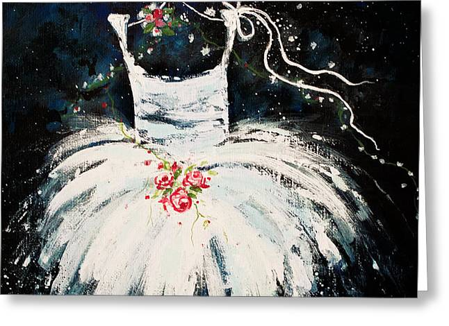 Dreams Of Dancing 2 Greeting Card by Angelina Cornidez
