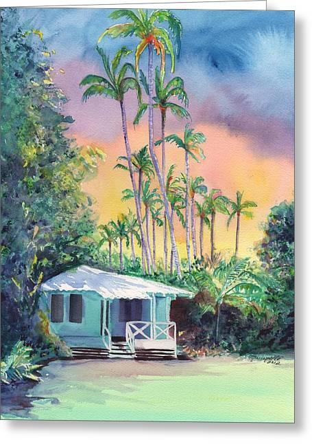 Dreams Of Kauai Greeting Card