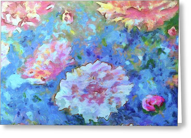 Greeting Card featuring the painting Dreams Of Love by Claire Bull