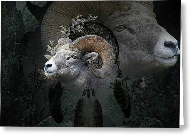 Dreams Of The Ram 2 Greeting Card