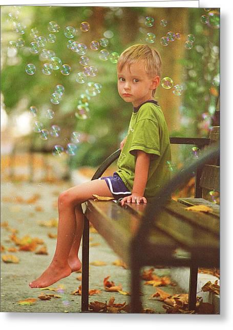 Emotions Pyrography Greeting Cards - Dreams Greeting Card by Vladimir Zotov