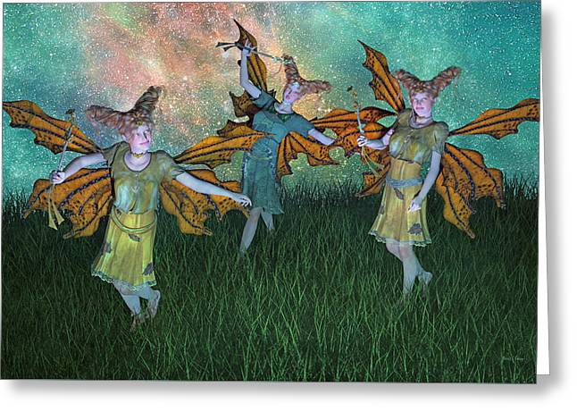Dreamscape Greeting Card by Betsy Knapp