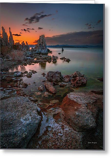 Greeting Card featuring the photograph Dreamscape by Tim Bryan