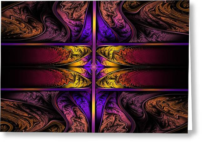Dreamstate Alpha Greeting Card by Lyle Hatch