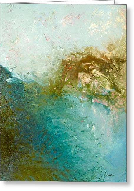 Greeting Card featuring the painting Dreamstime 3 by Irene Hurdle