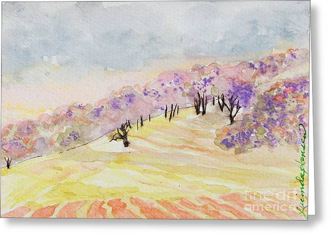 Dreamwood Greeting Card by Lucinda  Hansen