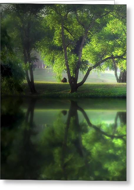 Dreamy Afternoon Greeting Card