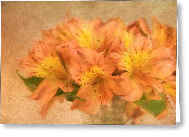 Dreamy Autumn Bouquet  Greeting Card