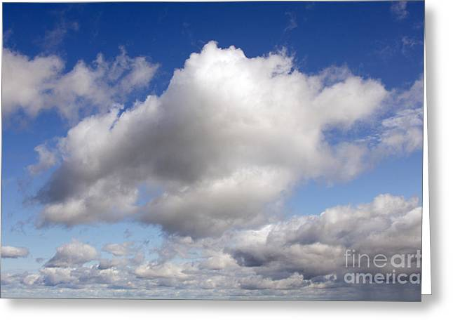 Dreamy Clouds Greeting Card
