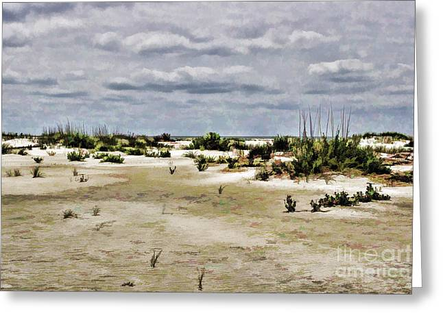 Dreamy Sand Dunes Greeting Card