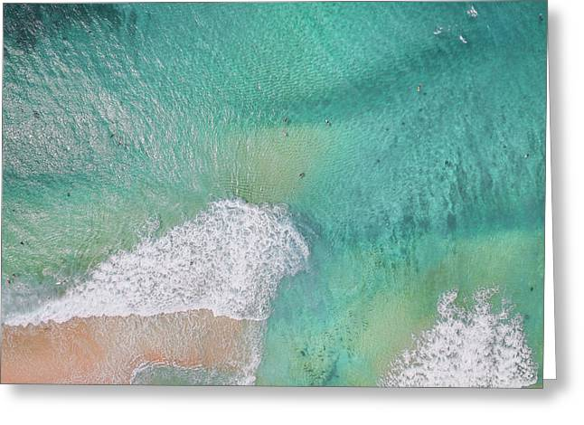 Dreamy Pastels Greeting Card by Sean Davey