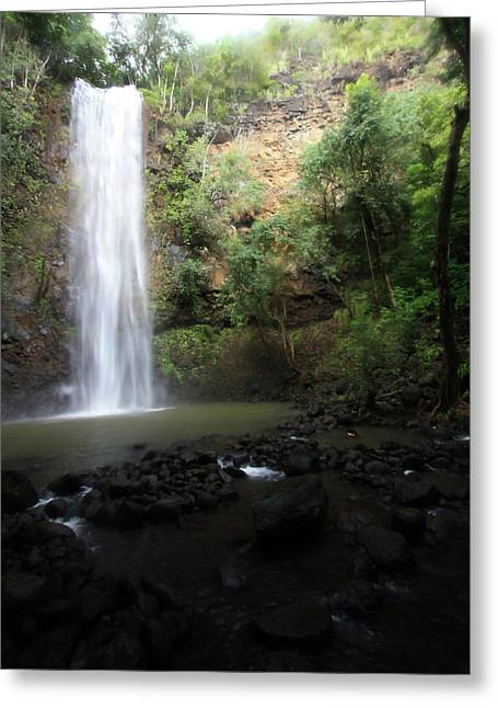 Dreamy Waterfall Greeting Card