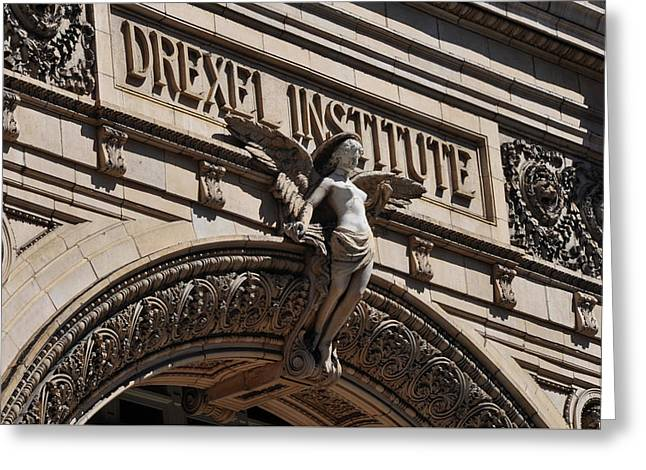 Drexel Institute - Philadelphia Pa Greeting Card by Bill Cannon