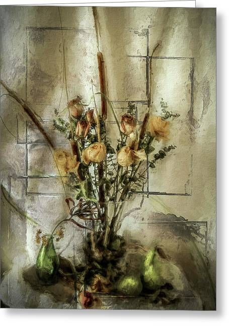 Dried Flowers Greeting Card