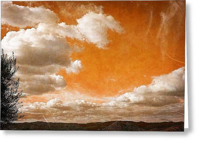 Greeting Card featuring the photograph Drifting Through The Valley by Glenn McCarthy Art and Photography