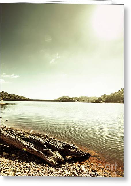 Driftwood Lakes Greeting Card